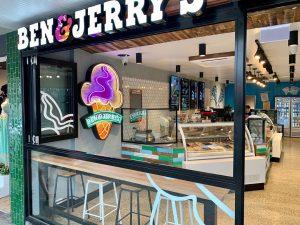Ben & Jerry Glass Shopfront Install